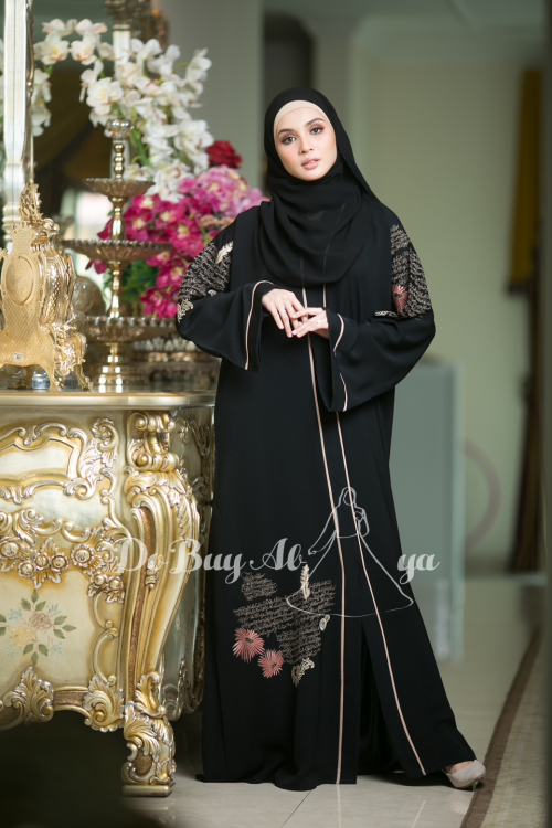 Ready Stocks Hallmark Abaya